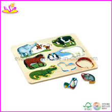 2014 Most Popular Kids Educational Wooden Jigsaw Puzzles Factory W14A105