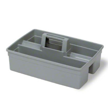 Multi-Use Housekeeper Basket Caddy For Cleaning Rectangle Storage Plastic Tool Box