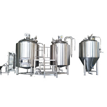 Automatic 500L 1000L PLC control system for Brewing beers