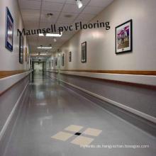 Professionelle Indoor Krankenhaus Vinyl / PVC Bodenbelag
