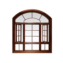 Ventana de marco de madera sólida de Windows del diseño de la moda para el hogar