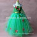 2017 cor verde vestido da menina de verão Aliexpress, Ebay, Amazon venda quente atacado tutu vestido de balé