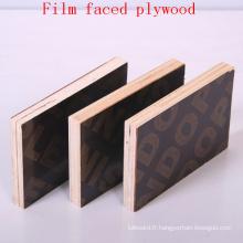 Contreplaqué de contreplaqué noir de fabrication de film / construction