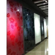 """Panneaux en MDF acrylique à haute brillance (4 """"X8"""")"""