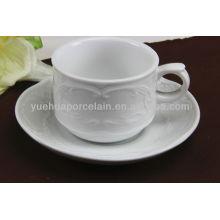 Tazas de té y platillo al por mayor de China