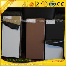 Extrusions d'aluminium de revêtement de fluorocarbure de GB pour la décoration extérieure de meubles