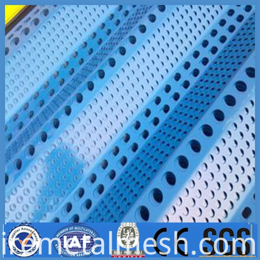 perforated metal mesh wind dust network