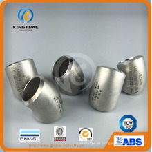 Butt Weld Fittings Codo de acero inoxidable de radio largo 45D codo (KT0291)