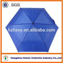 3 Fach manuelle offenen Super-Mini Regenschirm