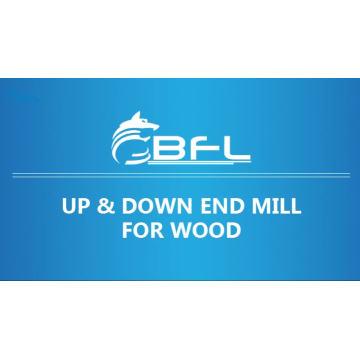 BFL Compression Cutter Pour le travail du bois, Fraises à monter et descendre pour le bois