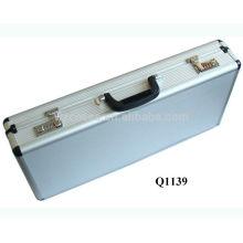 nouvelle arrivée aluminium fusil étui à fusil avec de la mousse à l'intérieur de fabricant, Chine