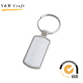 High Quality Rectangle Shape Metal Keychain for Gift (Y02276)