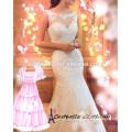 Vestido de novia blanco con tren maxi vestido de novia Vestido de novia largo tren