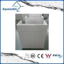 Modern White MDF Bathroom Cabinet Vanity (AC8075)