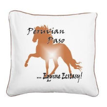 Poly-cotton Horse Sublimation Printed Personalized Pillow Cases With Invisible Zipper