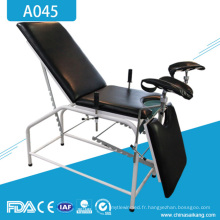 A045 Table d'examen manuelle de salle d'accouchement gynécologique portative