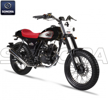 MASH DIRT TRACK 50cc SCHWARZ Body Kit Motorteile Originalersatzteile
