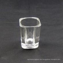 2oz quadratisches Schnapsglas (Logo-Druck vorhanden)