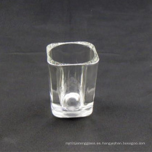 2oz Square Shot Glass (Logotipo de impresión disponible)