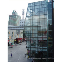 Fabricación e ingeniería de diseño innovador - Muro cortina de vidrio