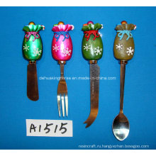 Разбрасыватель масла с резиновой ручкой для рождественского украшения