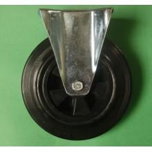 Industrial Black Rubber Swivel Type Ash-Bin Caster (K1XX1-R)