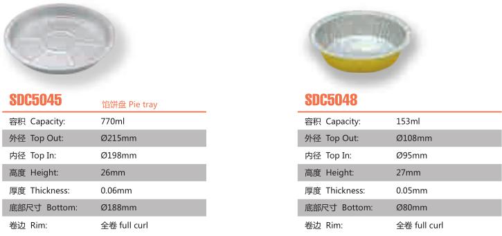 pie tray catalog
