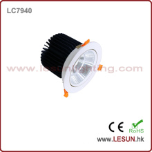 Ce et RoHS a approuvé le nouveau produit COB 40W Downlight avec la couleur blanche LC7940