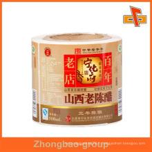 Guangzhou, fournisseur d'impression et d'emballage en gros, brillant ou mat, autocollant autocollant autocollant personnalisé