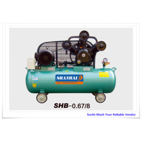 SHB-0.67-8 Customized Piston Air Compressor