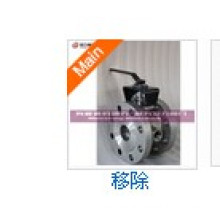 Handwheel Jacket Segment Ball Valve/V-Port Ball Valve Price