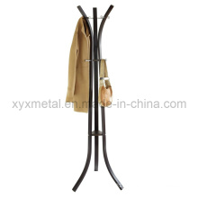 Manteau en métal moderne en tissu Porte-vêtements Porte-vêtements Porte-manteau