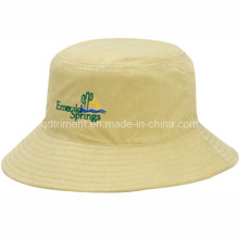Casual Durable Polyester Twill Angeln Eimer Cap Hut (TRBT001B)