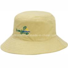 Повседневный прочный полиэстер Twill Рыбалка ведро Cap Hat (TRBT001B)