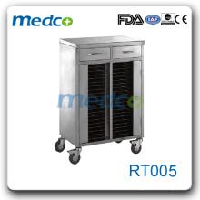 Panier d'enregistrement RT005 panier en acier inoxydable avec 40 étagères