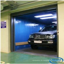Edelstahl-Maschinen-Raum-elektrischer Garage-Auto-Aufzug
