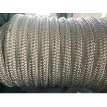 Double-Layer Stranded Fiber Ropes Mooring Rope PP Rope PE Rope Nylon Rope
