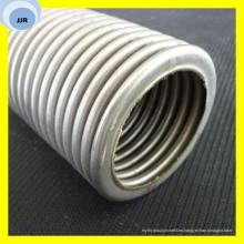 Tubo anular flexible del acero inoxidable del tubo de la conexión