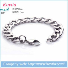 new products 2016 titanium steel men bracelet charm bracelet new bracelet