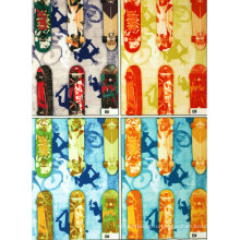 Полиэстер pongee Подкладка с печатные логотипы