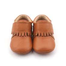 Brun Mjuk Sole Baby Moccasins Casual Shoes