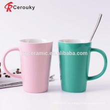 Caja de regalo caja de color embalaje promocional tazas tazas de porcelana al por mayor