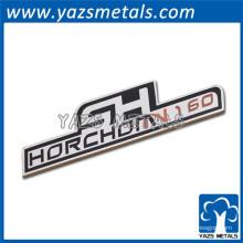Emblèmes de logo de voiture métallique étrangère