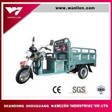 El cargo 650W utilizó el triciclo eléctrico de tres ruedas para el transporte