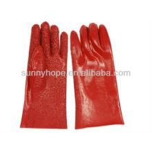 Gants revêtus de PVC avec doublure porte-serviettes
