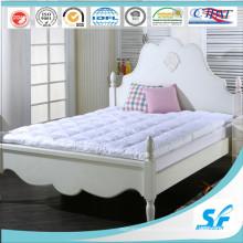 Hotel de 5 estrellas utilizado Soft Microfiber de relleno al por mayor colchón topper
