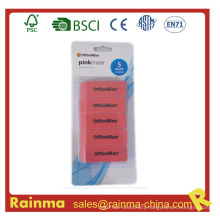 5 in 1 Set Packed Rubber Office Eraser