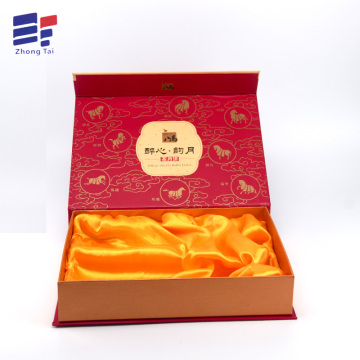 Customized cardboard folding tea packaging gift box