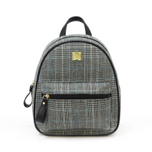 Small rolling school girl canvas college backpacks