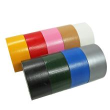 Amostra gratuita de fita adesiva forte vermelha para trabalho pesado em tecido para duto de fita gafa